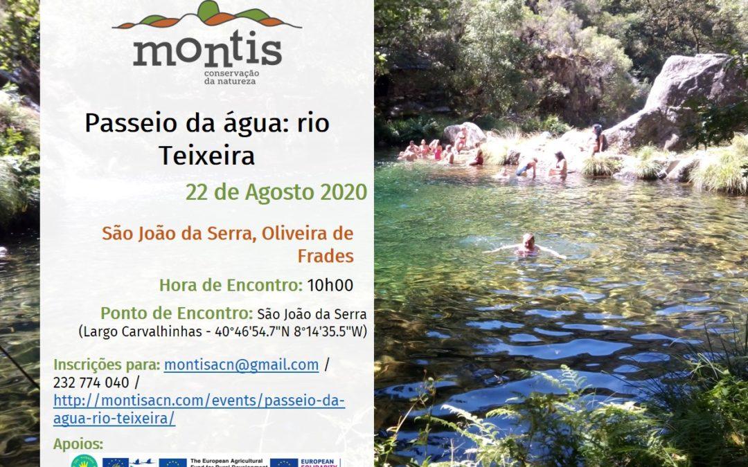 Passeio da água – rio Teixeira